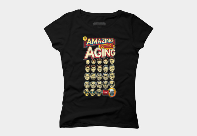 The Amazing Powers of Agoing Women's T-Shirt