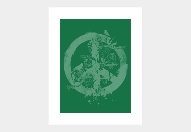 Peace Grows Art Print - Design By Humans