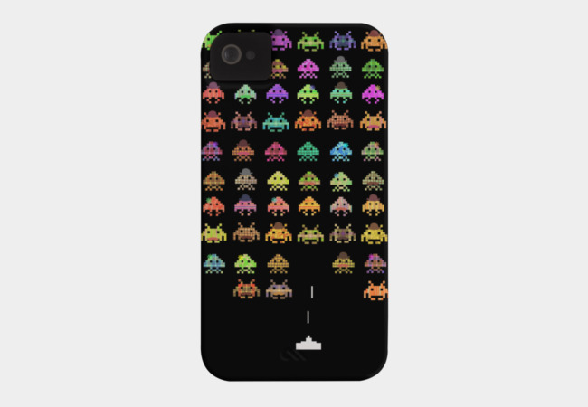Fashionable Invaders Phone Case - Design By Humans