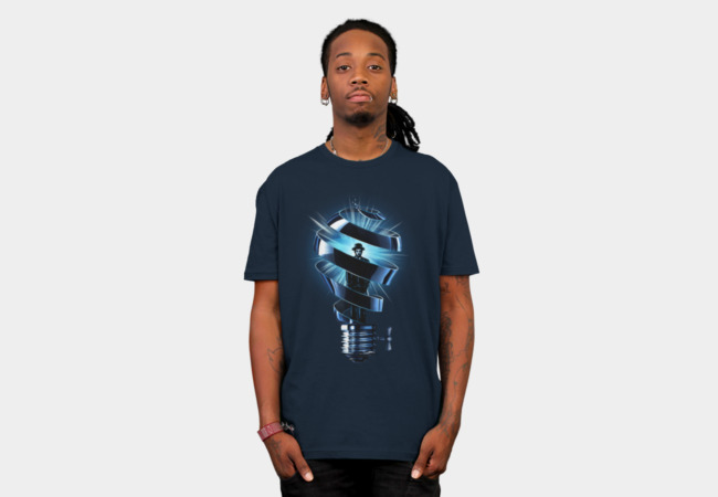 The Thinker T-Shirt - Design By Humans