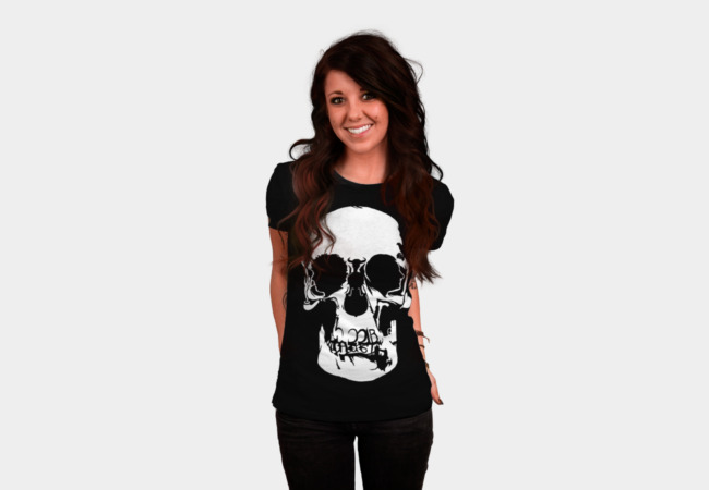 Sherlock: Skull on the Wall T-Shirt - Design By Humans