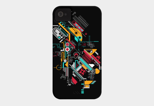 Analog android Phone Case - Design By Humans