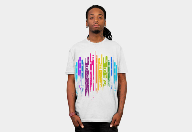 Color is Music T-Shirt - Design By Humans