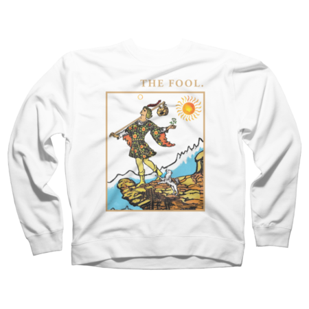 The Fool tarot t-shirts -The Fool Tarot Card Shirt -T-Shirt 00