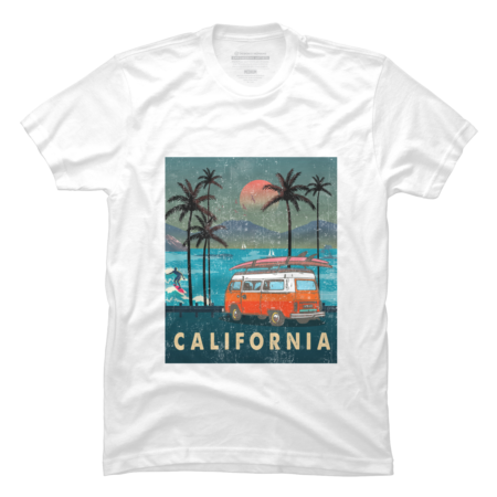 Vintage California 1980s Vintage Retro California