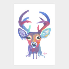 Colorful Deer Heard