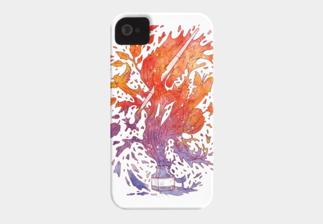Draw itself Phone Case - Design By Humans