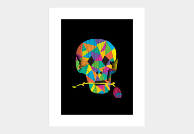 Skully Art Print - Design By Humans