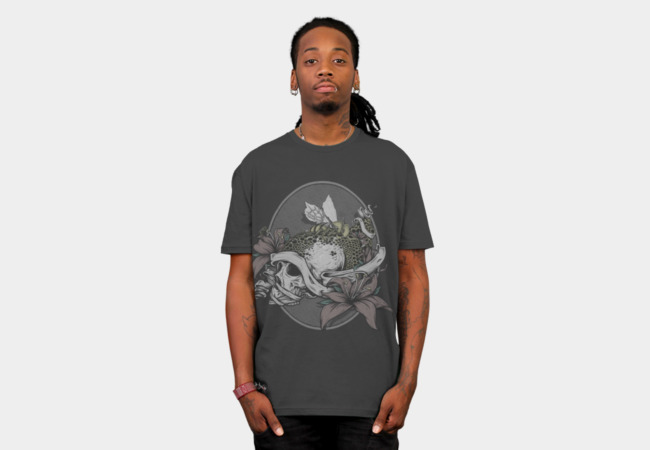 Skull Bee T-Shirt - Design By Humans
