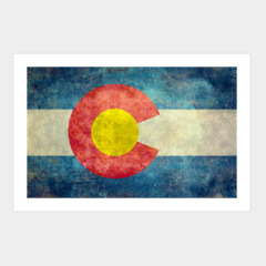State flag of Colorado, USA