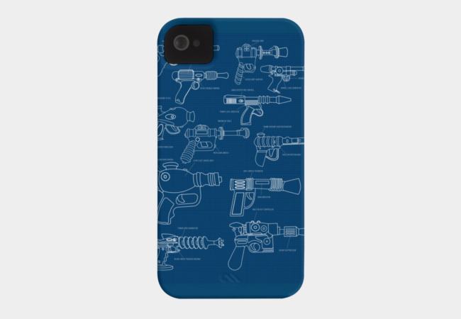 The Blaster Plan Phone Case - Design By Humans