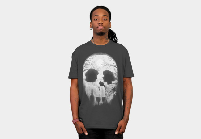 Till Death Do Us Apart (white) T-Shirt - Design By Humans