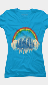 City of Music - Womens T-Shirt