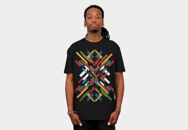 Fractal Pattern T-Shirt - Design By Humans