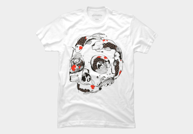 Koi Skull Men's T-Shirt