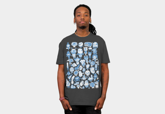 47 Individuals T-Shirt - Design By Humans