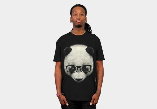 Serious Panda T-Shirt - Design By Humans