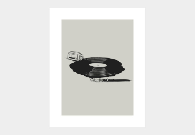 A New Song Art Print - Design By Humans