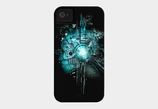 Techno Phone Case - Design By Humans