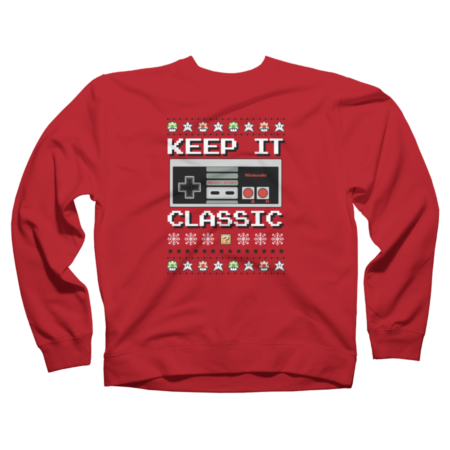 Keep It Classic Ugly Sweater Style