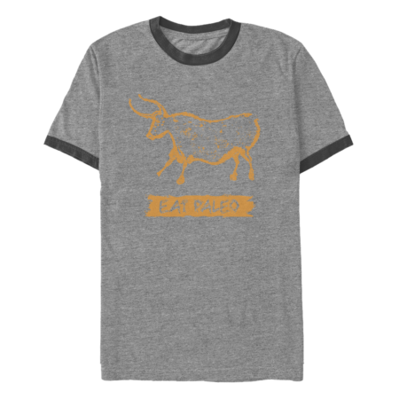 Eat Paleo Cave Painting Water Buffalo T-Shirt