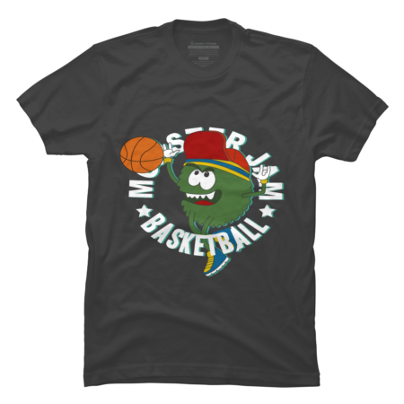Monster play BasketBall