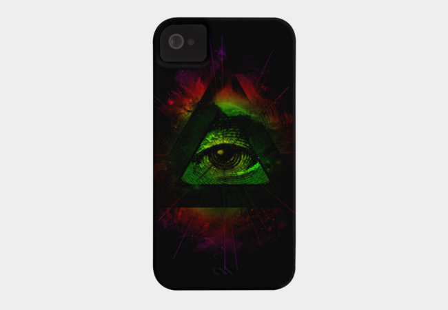 The Eye II Phone Case - Design By Humans