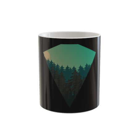 Pine Trees in a Diamond