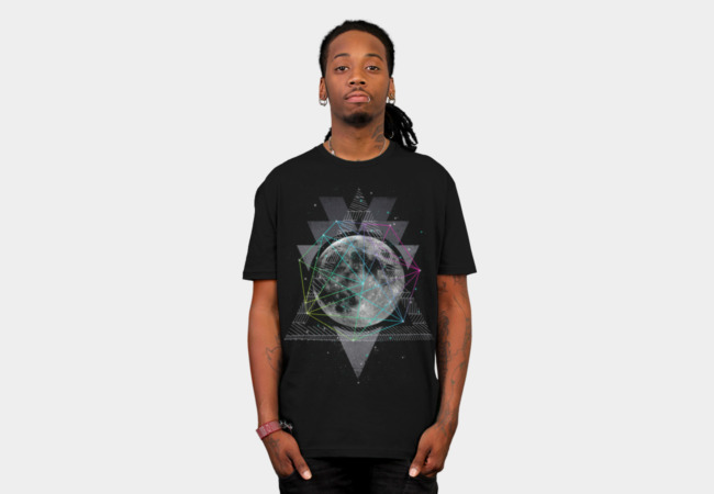 The Moon T-Shirt - Design By Humans