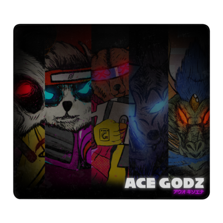 Ace Godz Medium Mouse-pad