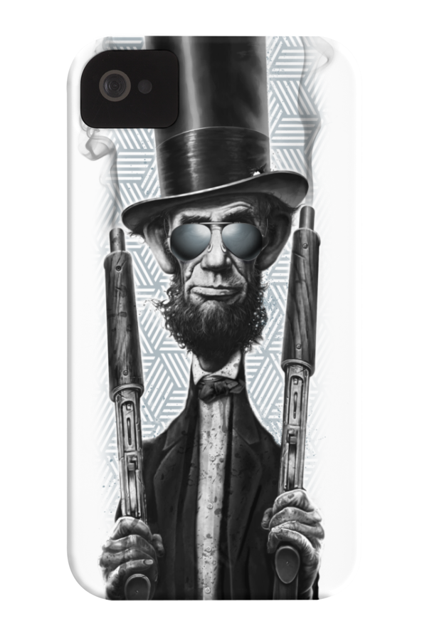 Bad Lincoln Barely There Phone Case