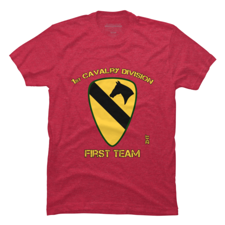 1st cavalry division - first team - vietnam
