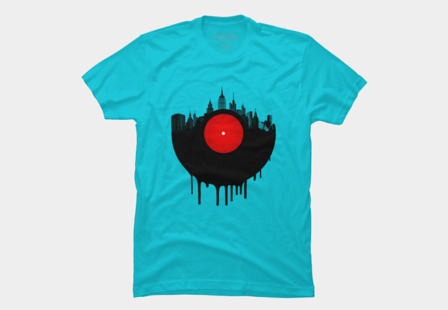 The Vinyl City Men's T-Shirt