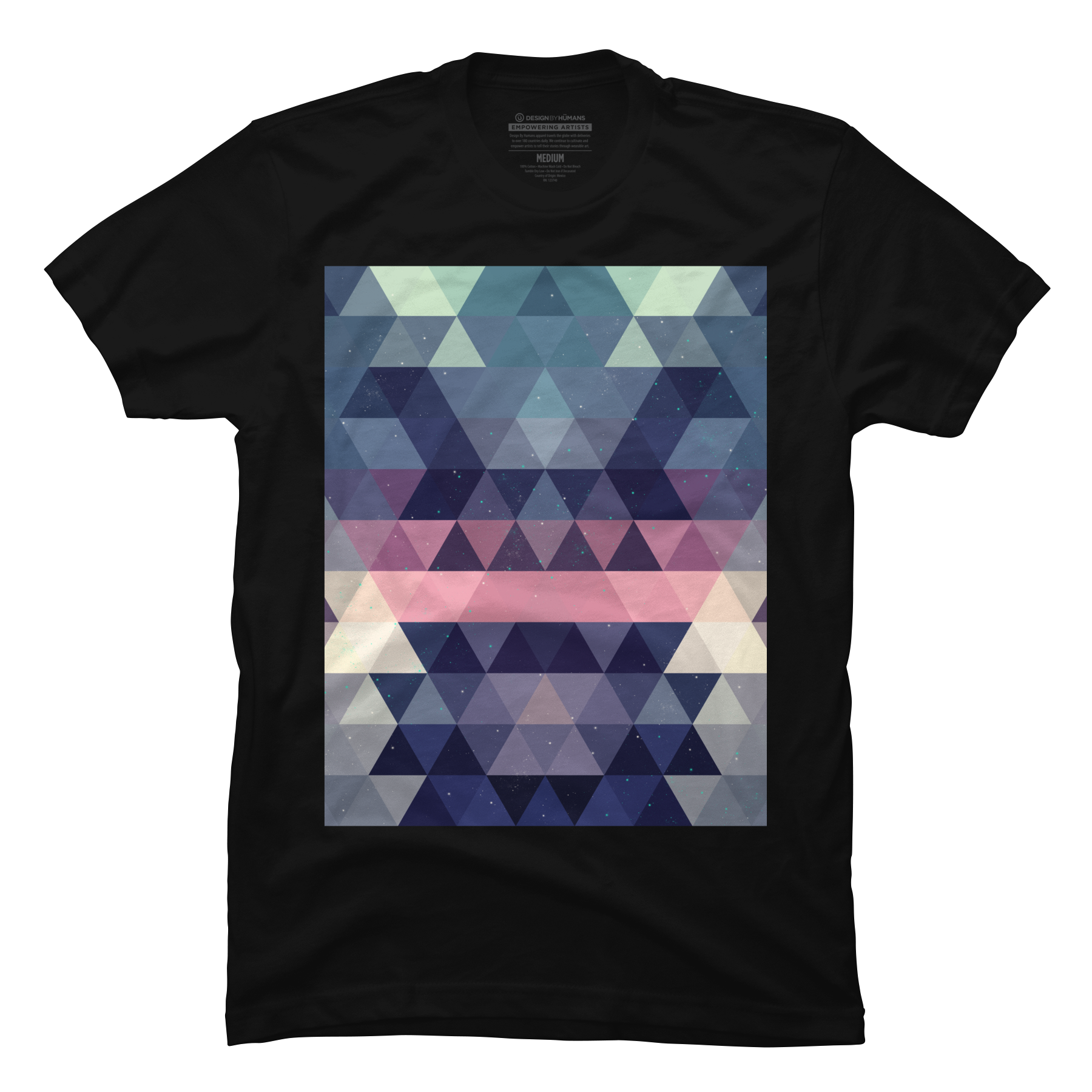 Triangle Space Men's T-Shirt