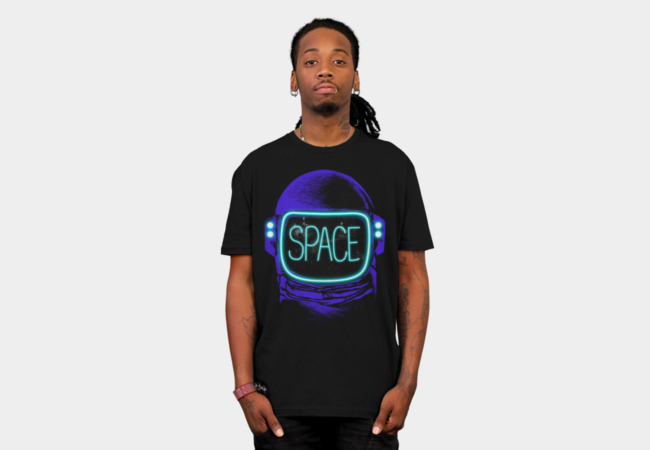 SPACE NEON T-Shirt - Design By Humans
