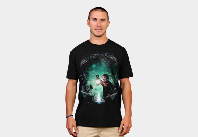 Light in the dark T-Shirt - Design By Humans