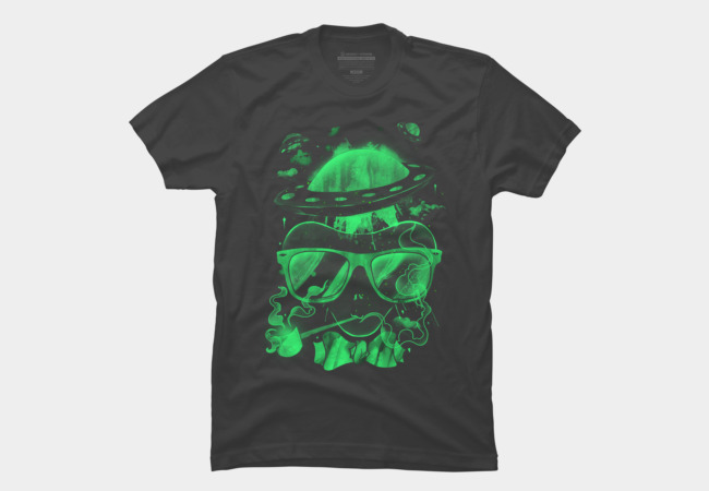 Hippie Martian Men's T-Shirt