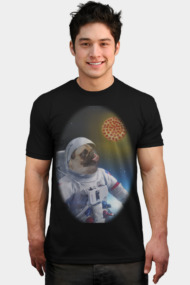 Pugernaut - Pug in Space