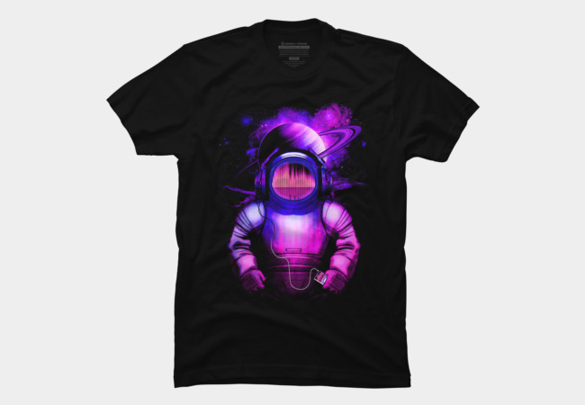 Music in Space V.2 Men's T-Shirt