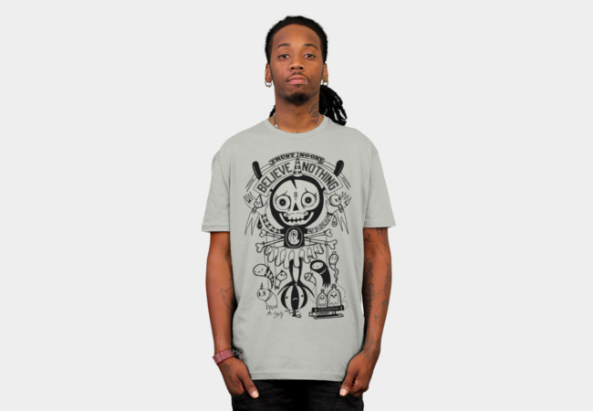 Mr Pessimist T-Shirt - Design By Humans
