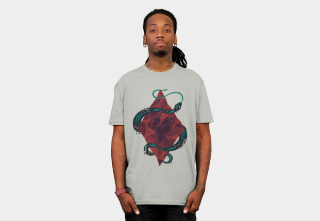 Mystic Crystal T-Shirt - Design By Humans