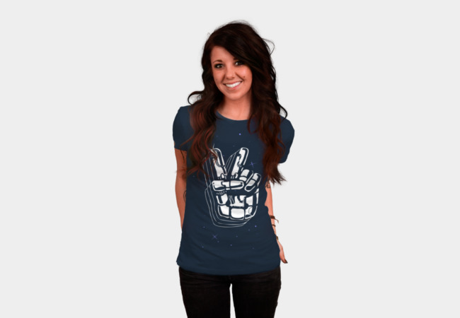 Peacebot T-Shirt - Design By Humans