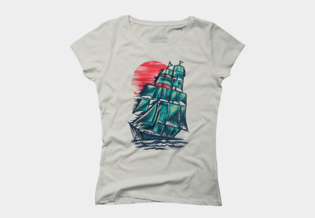 Northern Sunset Women's T-Shirt
