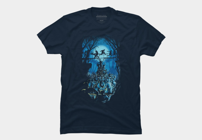 between death and island Men's T-Shirt