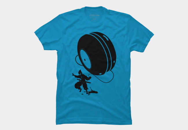 Ninja YO-YO Men's T-Shirt