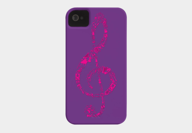 If music be the food of the soul, play on. Phone Case - Design By Humans