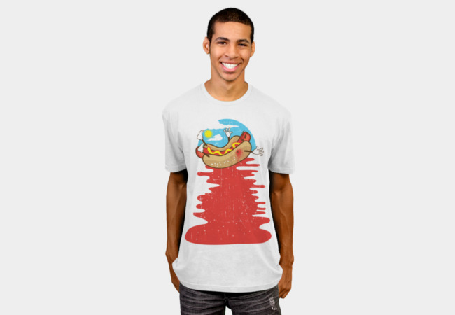 Hot Dog Murder T-Shirt - Design By Humans