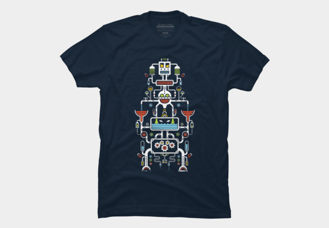 Mechanical Totem Men's T-Shirt
