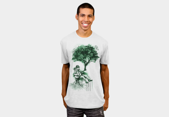 In The Rhythm of Nature T-Shirt - Design By Humans