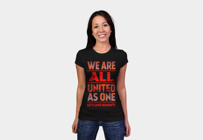 United as One by Aquamarine T-Shirt - Design By Humans